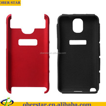 CHANNEL MOBILE PHONE CASE FOR SAMSUNG GALAXY NOTE 3 N9000 2 IN 1 SILICON +PC HARD SHOCKPROOF COVER