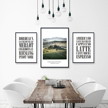 Hand Enhanced Nordic Style Mountain Canvas Giclee Art Print Painting Framed Poster