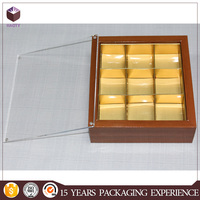 Elegant paper packaging box for chocolate