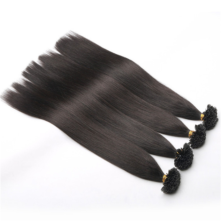 Wholesale premium 100% russian hair I/V/U/Flat tip hair extension buy human hair online