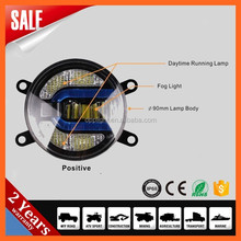 wholesale 3.5inch led fog lamp 3.5inch 90mm front fog light with drl 2in1 for mitsubishi galant