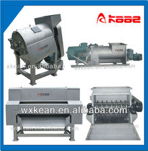 Complete set automatic peach puree making equipments include washing,stoning,crushing,pulping machine