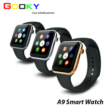 2017 Factory wholesale A9 bluetooth man fitness smart watch