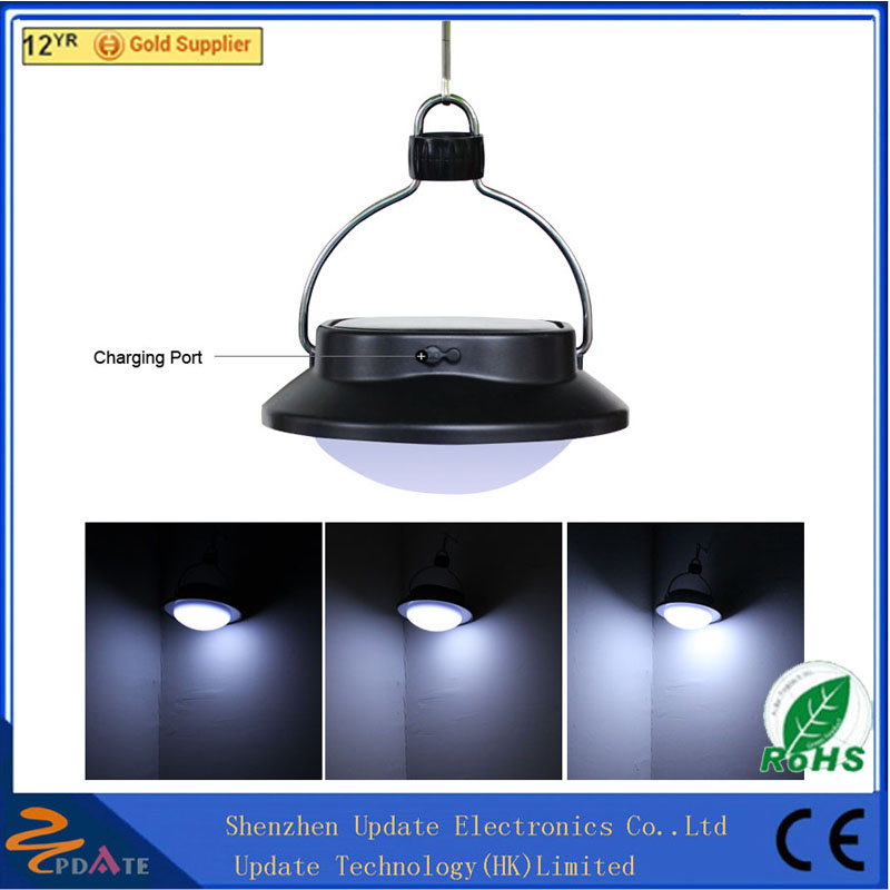 White Color New Super Bright 60 LED IP65 5 Mode Mini Solar Camping Lights solar inflatable lantern