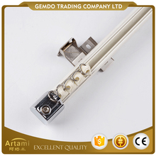 Professional supply universal aluminum non bendable curtain track