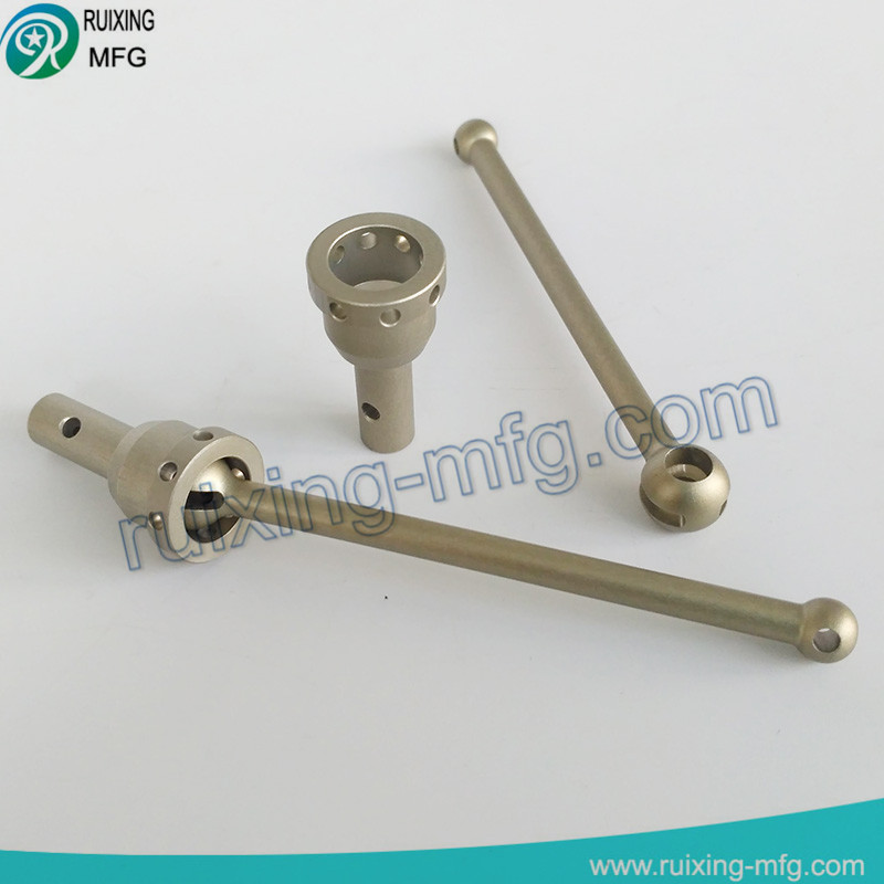7075 aluminum fabrication metal part for racing fittings