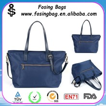 Factory wholesale Ms. breathable waterproof nylon designer hand bag can be customized