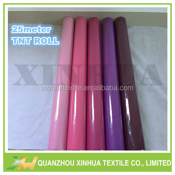 Flower wrapping fabric nonwoven