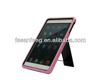 Lovely pink girls cases for apple ipad mini stand case, many colors available,for Apple iPad mini accessory