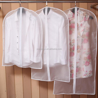 Wholesale Transparent Plastic Clothes Bag PEVA Garment Covers