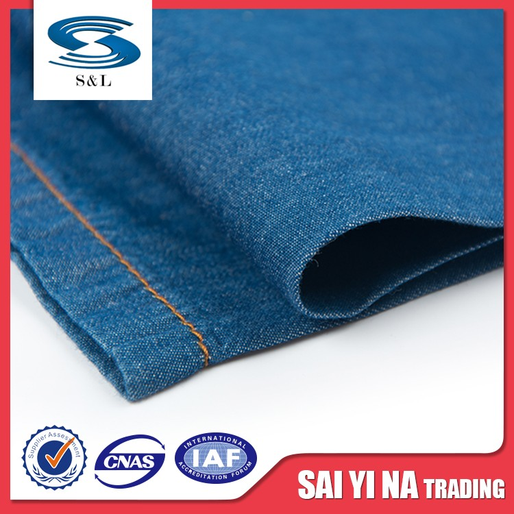 Trendy style jean fabric 100 cotton denim fabric for sale