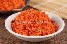 Wholesale of Bulk Dried Carrot Cubes/Granules with Different Specification