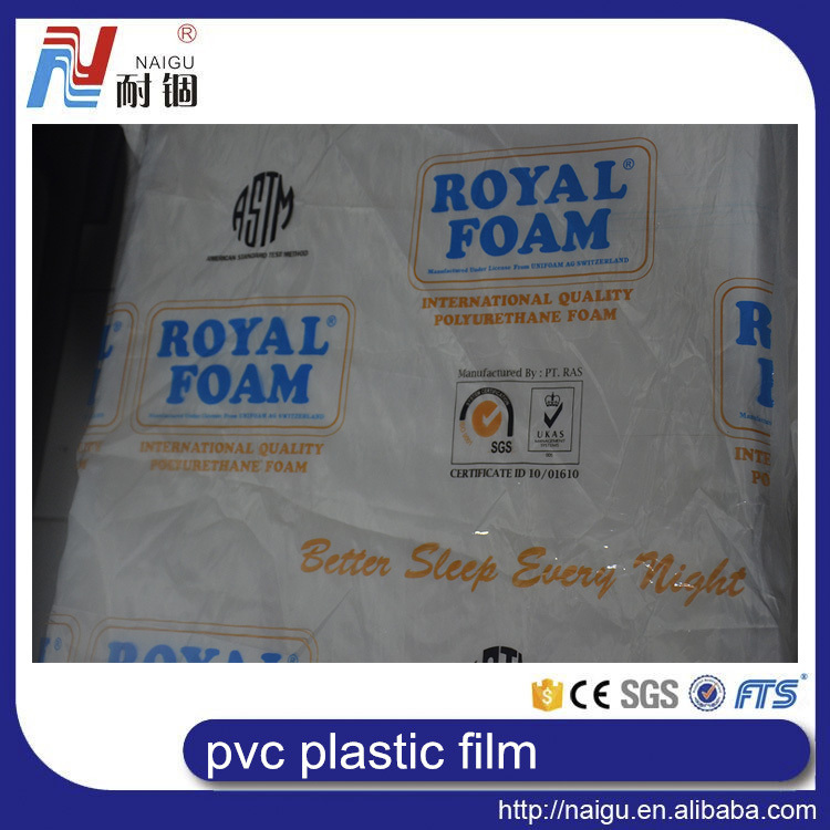 big discount Soft 3mm thick standard PVC clear plastic rolls