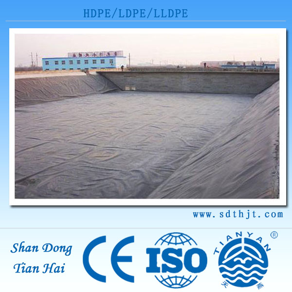 Any HDPE geomembrane geotextile GCL composited geomembrane drainage board for Germany waterproof usage
