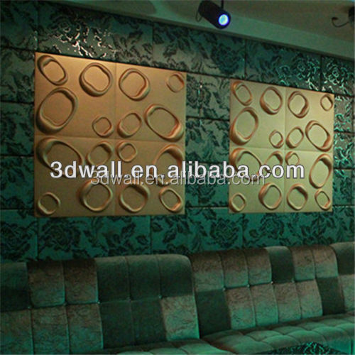 natural plant fibres creative 3d board for wall