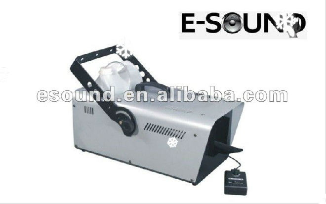 Good quality and cheap 1200W snow machine for stage
