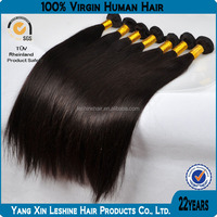 Factory Price Natural Color Silky Straight Tangle Free 7a 8a Top Grade 100% Real Virgin Indian Remy Hair
