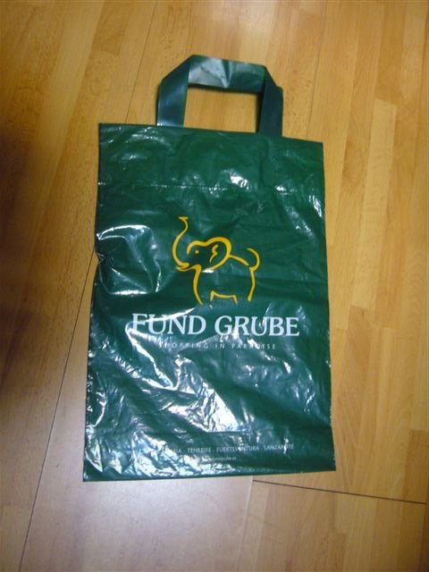 recycle soft loop handle bag for clothes and garment shop