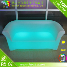 nightclub decoration led sofa/led bar chair / outdoor waterproof led furniture