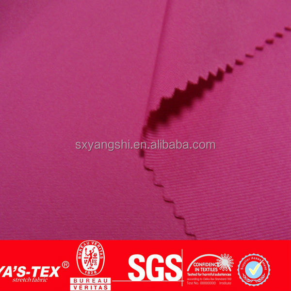 stretch 80 polyamide 20 elastane fabric used for making the bra and panties