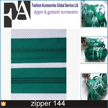 Zipper upholstery nylon zipper long chain 200meter/roll cheap price with high quality factory zippers