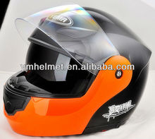 DOT certificate german style custom predator motorcycle helmet yema flip up helmet YM-921