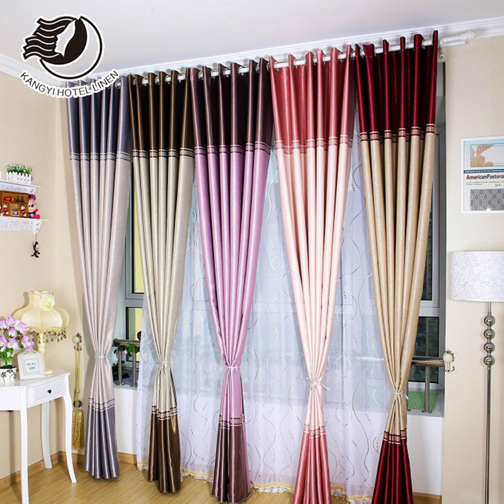 Hot-sale Luxury Hotel Window Blackout Curtain