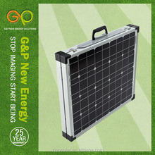 100 watt folding solar panel for camping certificate by CE/CEC/TUV/ISO