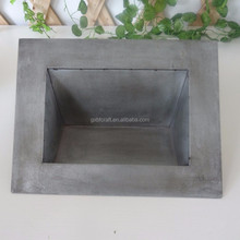 European country style titanium metal planter for home decoration
