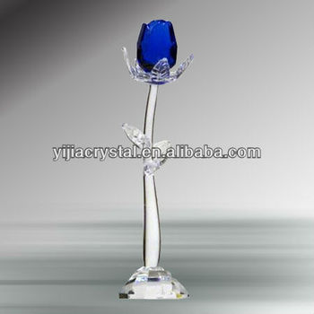 Crystal Glass Rose For Gifts & Wedding Decoration Christmas Gift