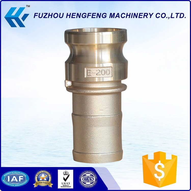 Factory directly provide brass camlock coupling type e