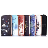 Red Castle Wallet Style Vertical Flip Stand Foldable TPU+PU Cover Leather Shell for Wiko Goa