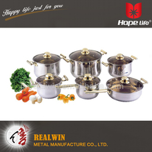 Belly shape cast iron cookware 0.5mm thickness kitchen cookware sets