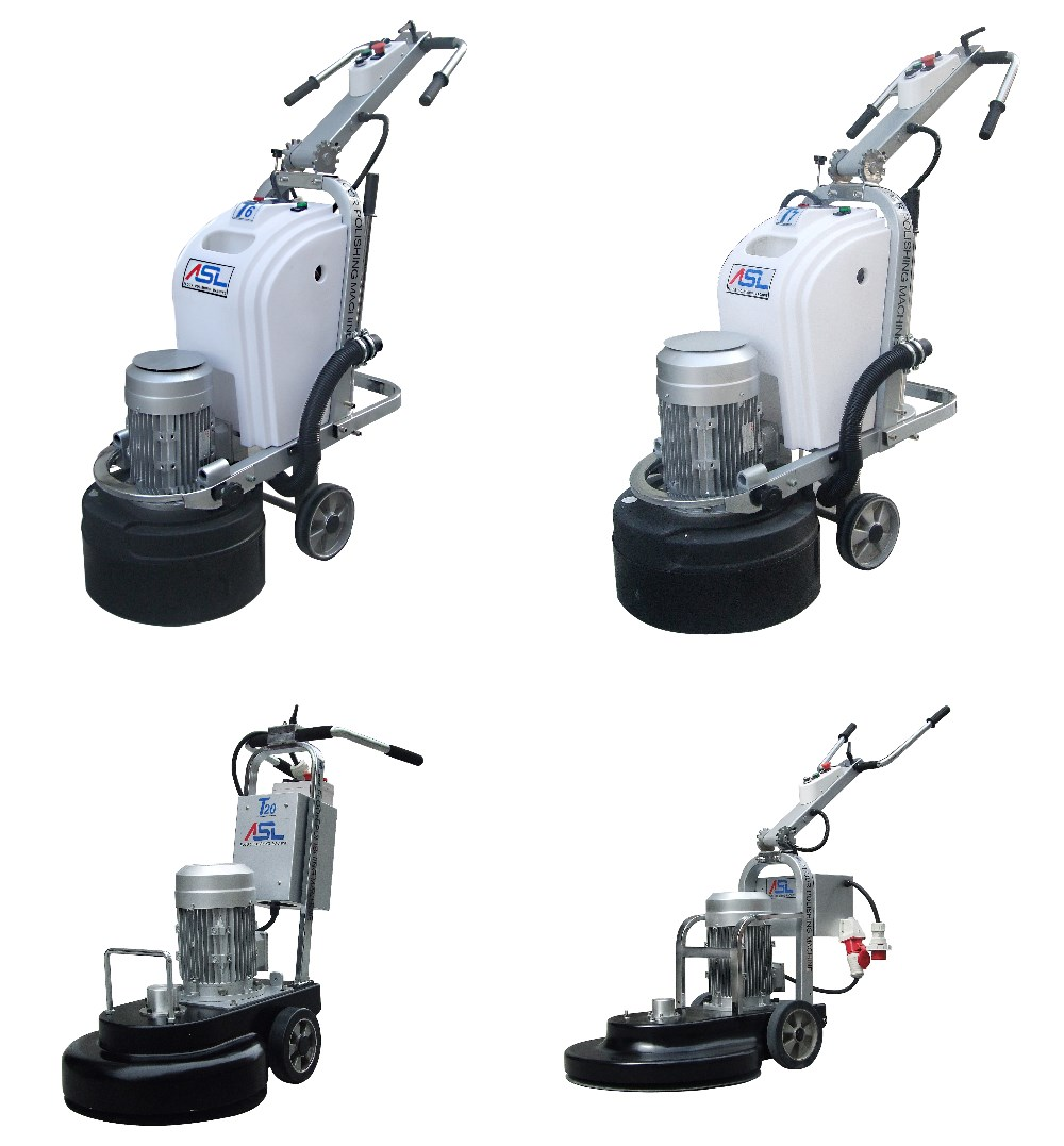 ASL Factory High quality hand push industrial floor scrubber for sale