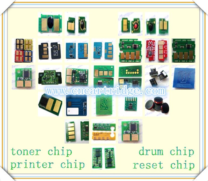 High Quality Compatible toner chip reset chip for popular printer and copier