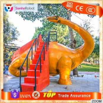 Children's favor Manufacturer Large Playground Equipment fiberglass water slides