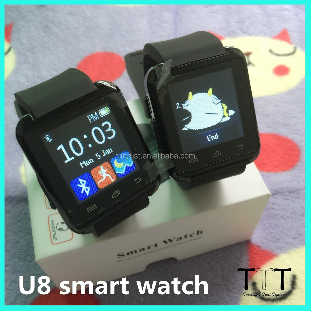 Cheap price Bluetooth Smart Watch U8 SmartWatch for Samsung S6/S5/Note 4/Note 3 mobile phone watch