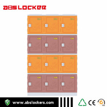 Hot Sale Pink Two Tires Plastic Cabinet lockers For Shoes In Factory
