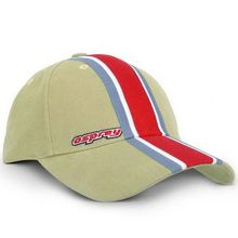 Guangdong cap factory reliable supplier custom fabric applique stripe baseball cap
