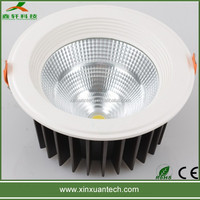 High power round led downlight 60w cob down lights for dining room lighting