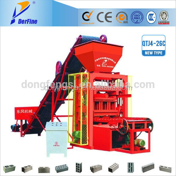 QTJ4-26 animal salt block machine