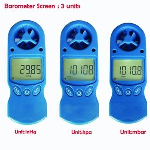 Newest Handheld Anemometer TL-302 Weather Meter with Temperature, Humidity, Dewpoint, Heat Index, Wind Chill and Barometer