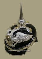 WWII German Helmet Pickelhaube spiked leather