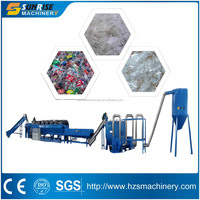 pe pp waste plastic bags washing line / pe film washing line