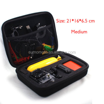 EVA material Shockproof protect traveling Gopro accessories case bag