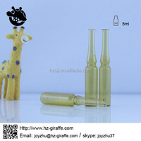 5ml injection amber ampoule glass vial for antibiotic