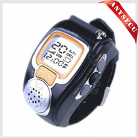 RD-008B 1 pairs multicolor mini watch walkie talkie wristwatch 2 way radio Multi Frequency optional
