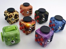 New Color Camo Fidget Cube Really High Quality Fidget Cube Relieves Stress And Anxiety Toy for Children and Adults