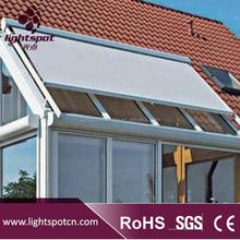 folding sun shade canopy pergola roof awning system aluminum conservatory glass roof awning system used canopy for sale