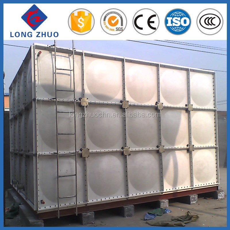 SMC,FRP material cool salt water storage tank/smc water tank/square oil tank with advanced technology